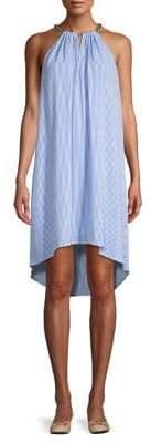 MICHAEL Michael Kors Striped Haltedneck Dress