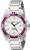 Momentum Women's Quartz Stainless Steel Diving Watch, Color:Silver-Toned (Model: 1M-DN11LE0)