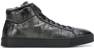 Santoni high-top Coco sneakers