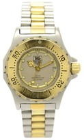 Tag Heuer 3000 934.208 Professional 200M Stainless Steel & Gold Plated Quartz 27.5mm Womens Watch