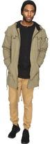 Publish Radik - Herringbone Twill Hooded Trench Coat