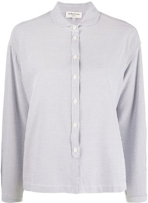 YMC Striped Long-Sleeve Shirt