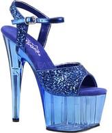 Pleaser USA Women's Adore 710GT Ankle-Strap Platform Sandal