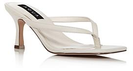 Aqua Women's Elsie High-Heel Thong Sandals - 100% Exclusive