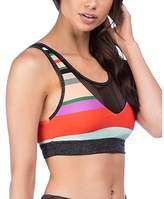Trina Turk Mod Stripe Sports Bra.