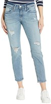 Silver Jeans Co. Mid-Rise Slim Leg Boyfriend Jeans L27172SJL296 (Indigo) Women's Jeans