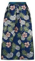 Pinko Pineapple Jacquard Lurex Skirt