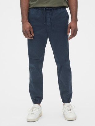 Gap Slim Canvas Joggers with Gapflex