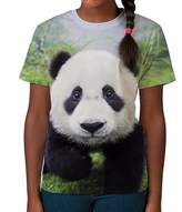 BANG TIDY CLOTHING Kids Graphic Tee Youth T Shirt Panda Cub Clothes for Girls