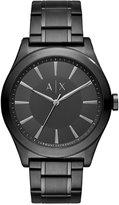 Armani Exchange A X Men's Black Stainless Steel Bracelet Watch 44mm AX2326