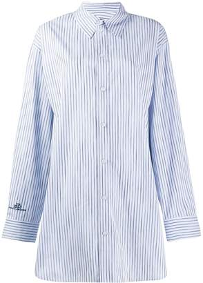 Marc Jacobs oversized striped shirt