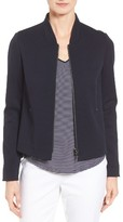 Nordstrom Women's Wool Blend Knit Bomber Jacket