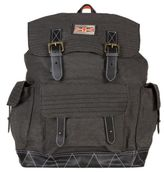 Superdry New Mens Black Rookie Scoutpack Cotton Backpack Backpacks