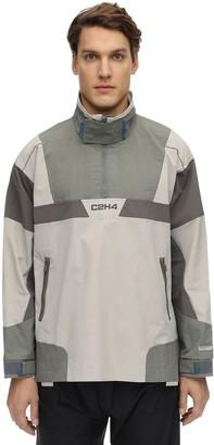 C2H4 Color Block Half-Zip Jacket