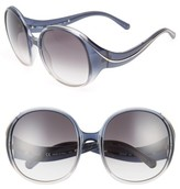 Chloé Women's Nelli 59Mm Gradient Lens Round Sunglasses - Gradient Black