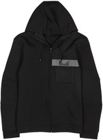 Fendi Bag Bugs Black Jersey Sweatshirt