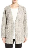 Eileen Fisher Women's Roving Wool Blend Sweater Jacket
