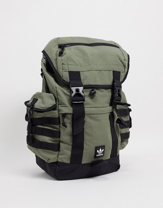 adidas utility backpack in khaki