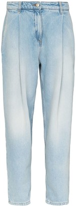 Magda Butrym Wide-Leg Tapered Jeans