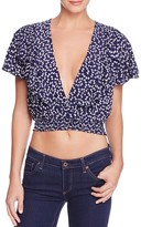 Faithfull The Brand Icon Ruffle Crop Top
