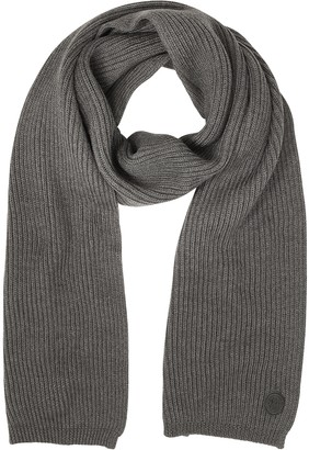 DSQUARED2 Solid Wool Knit Men's Long Scarf