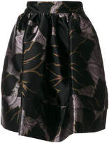 Etro printed satin skirt
