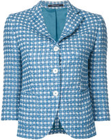 Tagliatore Mimma blazer - women - Cotton/Polyester/Polyimide - 42
