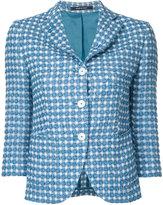 Tagliatore Mimma blazer - women - Polyimide/Cotton/Polyester - 42