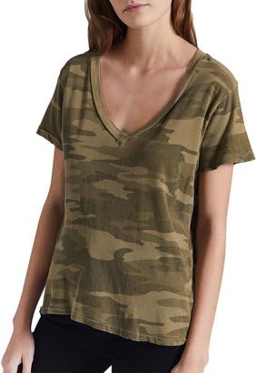 The V-Neck Camo T-Shirt