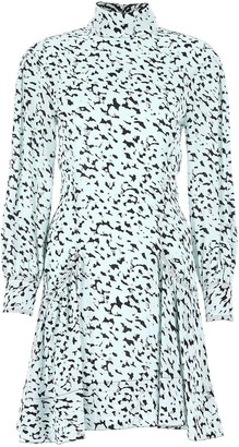 Proenza Schouler Printed Flared Dress