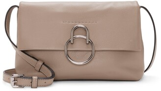 Vince Camuto Plum Leather Crossbody Bag