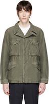 Visvim Green Damaged Military Jacket