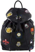 Alexander McQueen Badge Print Backpack