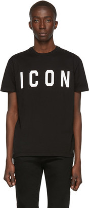 DSQUARED2 Black Cool Fit T-Shirt