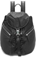 Lanvin Leather-trimmed Nylon Backpack - Mens - Black