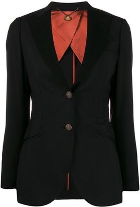 Maurizio Miri Single-Breasted Tailored Blazer