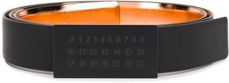 Maison Margiela Numbers Buckle Belt