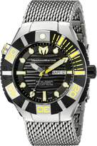 Technomarine Men's TM-513006 Reef Analog Display Swiss Automatic Silver Watch