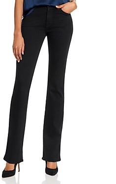 7 For All Mankind Kimmie Bootcut Jeans in Slim Illusion Luxe Black