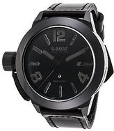 U-Boat 7337 Men's Classico Automatic Black Genuine Leather and Dial