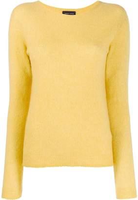 Roberto Collina knitted round neck sweatshirt