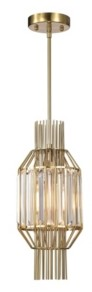 "Home Accessories Aes 8"" 1-Light Indoor Pendant Lamp with Light Kit"