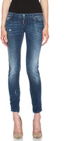 DSquared Skinny Jean in Light Rider Blue