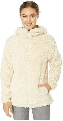 Burton Lynx Full Zip Fleece (Creme Brulee) Women's Fleece