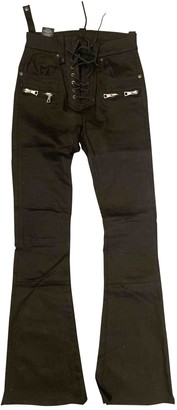Unravel Project Black Cotton - elasthane Jeans