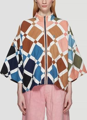 Story mfg. Nice Riff Patchwork Jacket
