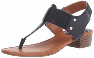 Bandolino Footwear womens Heeled Sandal Navy 5 M US