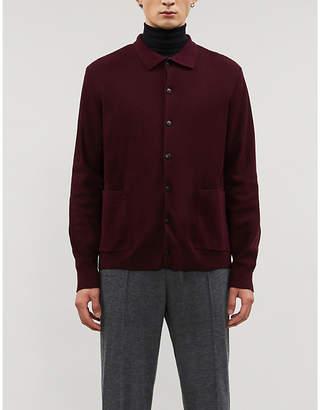 Sunspel Button-up cotton cardigan