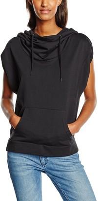 Urban Classics Women's Ladies Sleeveless Terry High Neck Hoody Sweater