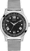 GUESS Men's Stainless Steel Mesh Bracelet Watch 44mm U0683G1